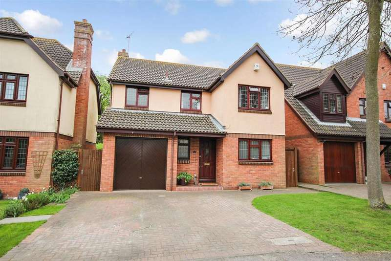 4 Bedrooms Detached House for sale in Maryfield Close, Bexley, DA5 2HY