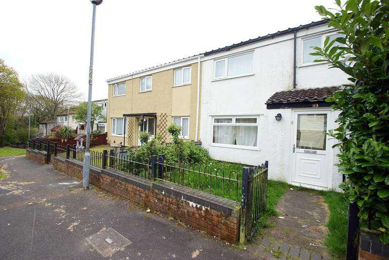 3 Bedrooms Terraced House for sale in Coed Y Gores, Llanedeyrn