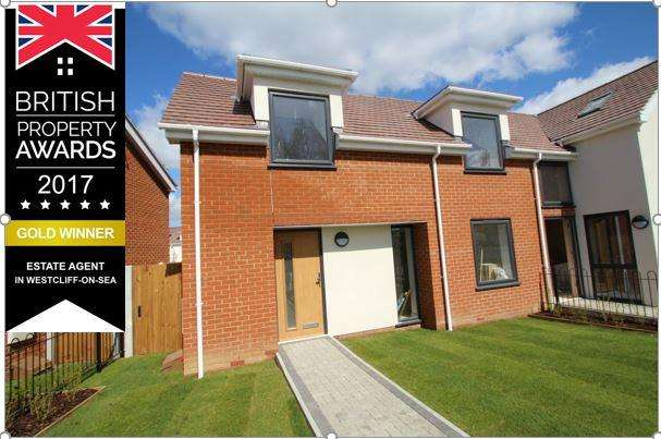 2 Bedrooms Semi Detached House for sale in 573 PRINCE AVENUE, WESTCLIFF ON SEA SS0