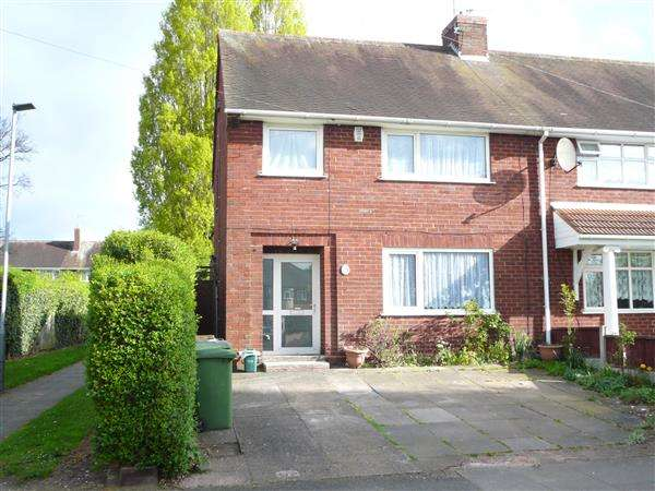 3 Bedrooms Semi Detached House for sale in Lichfield Road, Wednesfield, Wolverhampton
