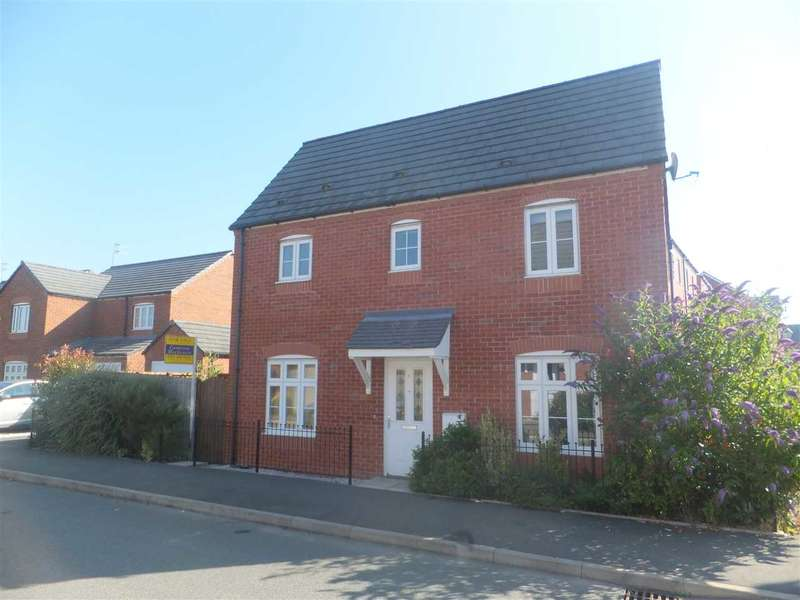 3 Bedrooms Semi Detached House for sale in Speakman Way, Prescot, Merseyside