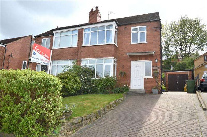 3 Bedrooms Semi Detached House for sale in Carrholm Crescent, Chapel Allerton, Leeds