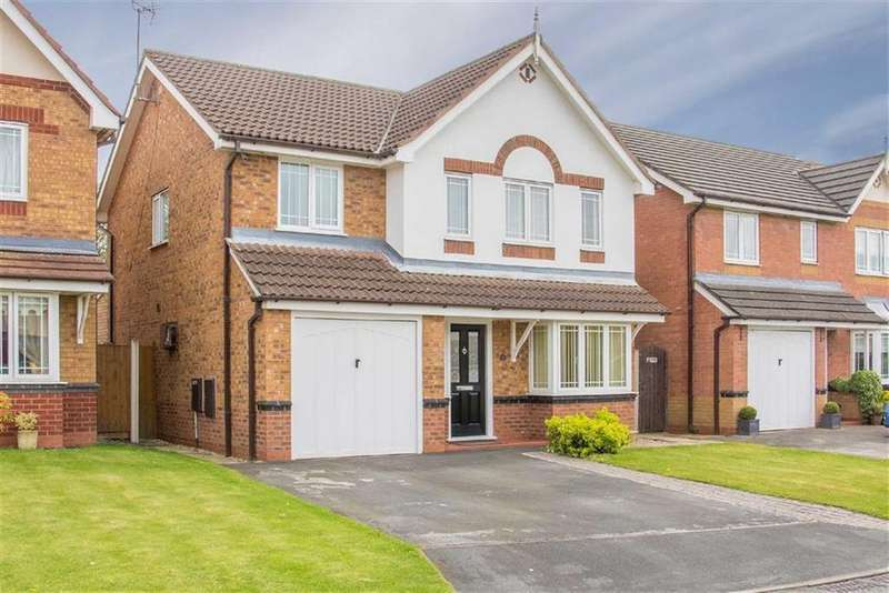 4 Bedrooms Detached House for sale in Ffordd Pant Gwyn, Connah's Quay, Deeside, Flintshire