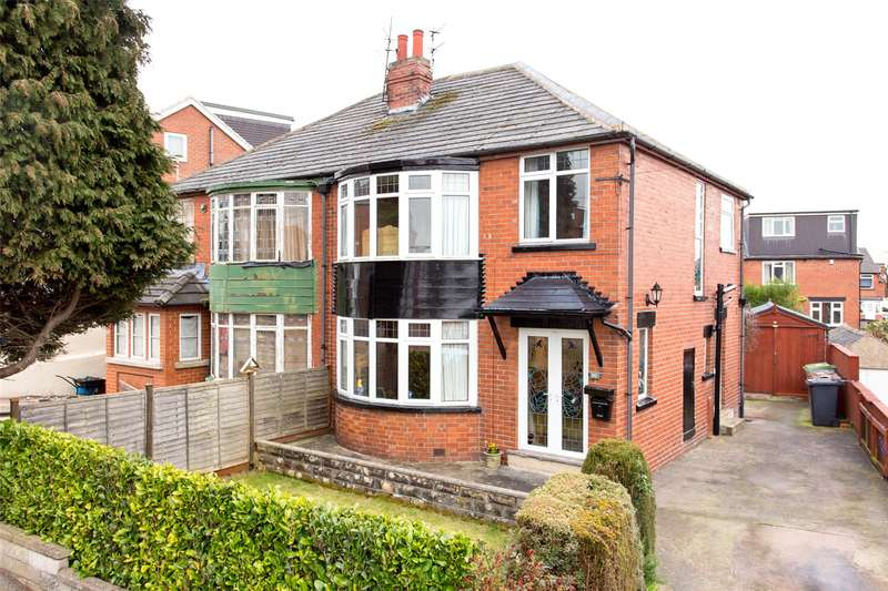 3 Bedrooms Semi Detached House for sale in Chelwood Avenue, Leeds, West Yorkshire, LS8