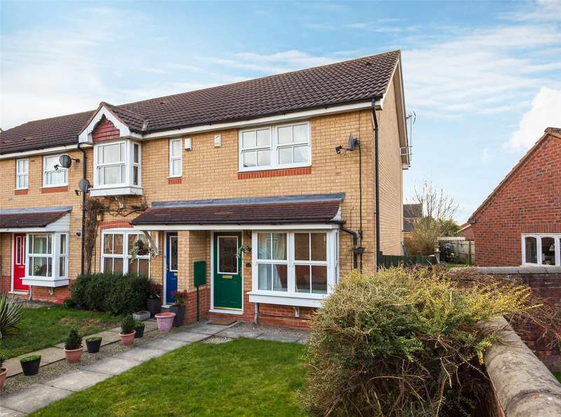 2 Bedrooms End Of Terrace House for sale in Roseberry Grove, York, YO30
