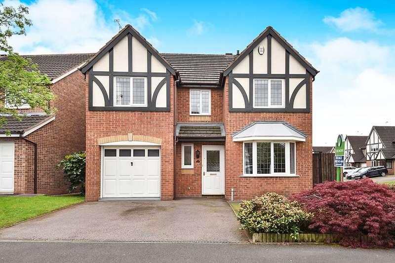 4 Bedrooms Detached House for sale in Thrift Road, Branston, Burton-On-Trent, DE14