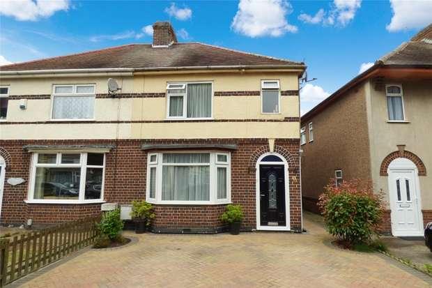 3 Bedrooms Semi Detached House for sale in Greenmoor Road, Nuneaton, Warwickshire