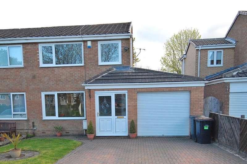 3 Bedrooms Semi Detached House for sale in Beechcroft Avenue, Brandon, Durham