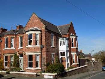 4 Bedrooms End Of Terrace House for sale in 21 Mulcaster Crescent, Stanwix, Carlisle, CA3 9EA