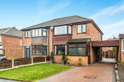 3 Bedrooms Semi Detached House for sale in Greenside Drive, Greenmount, Bury, Greater Manchester, BL8