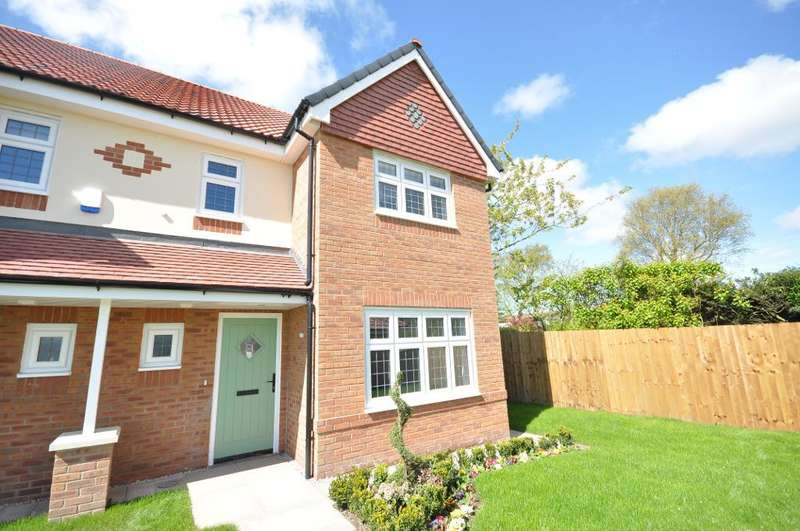 4 Bedrooms Semi Detached House for sale in Plot 8, The Sandringham, The Thatch, Garstang, Preston, Lancashire, PR3 1PJ