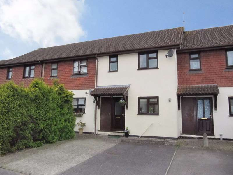 3 Bedrooms Terraced House for sale in Carpenters Court, South Ham, Basingstoke, RG22