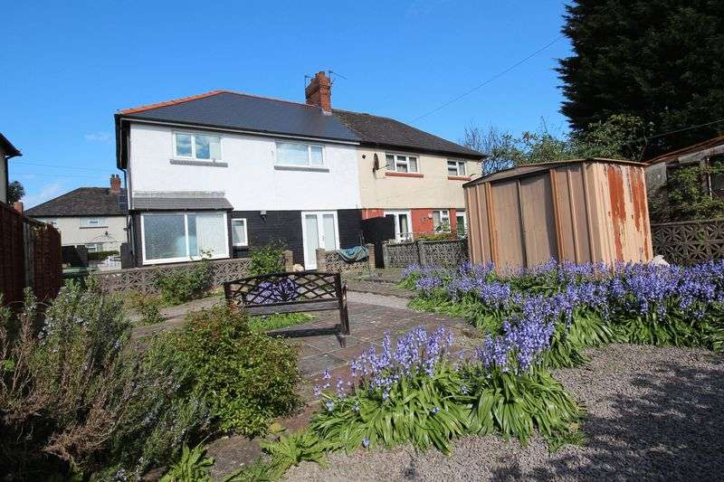 3 Bedrooms Semi Detached House for sale in Mynachdy Road, Mynachdy