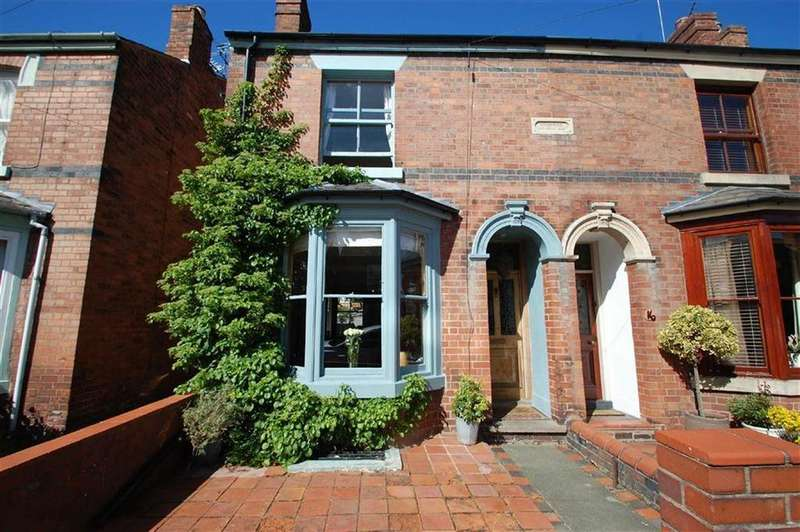3 Bedrooms Semi Detached House for sale in Percy Street, Greenfields, Shrewsbury