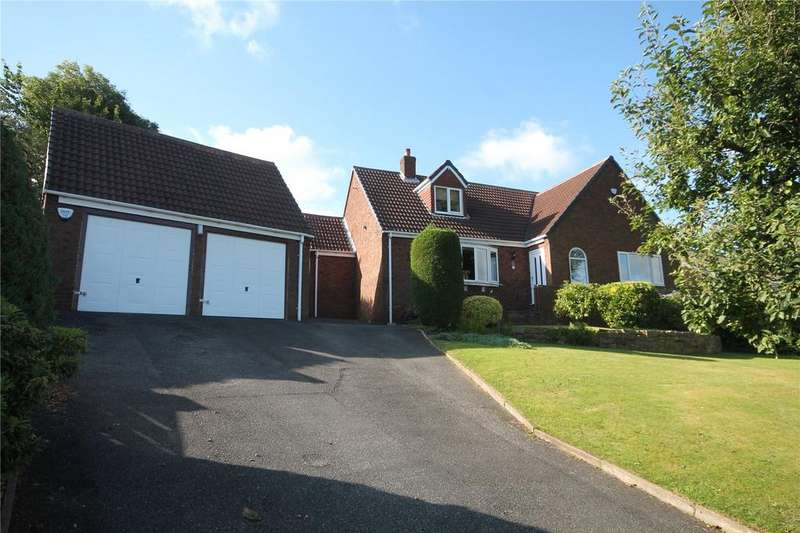 4 Bedrooms Detached Bungalow for sale in Melvinia Crescent, Barnsley, South Yorkshire, S75