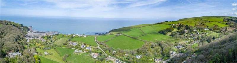 8 Bedrooms Farm House Character Property for sale in Lee, Woolacombe, Barnstaple, Devon, EX34