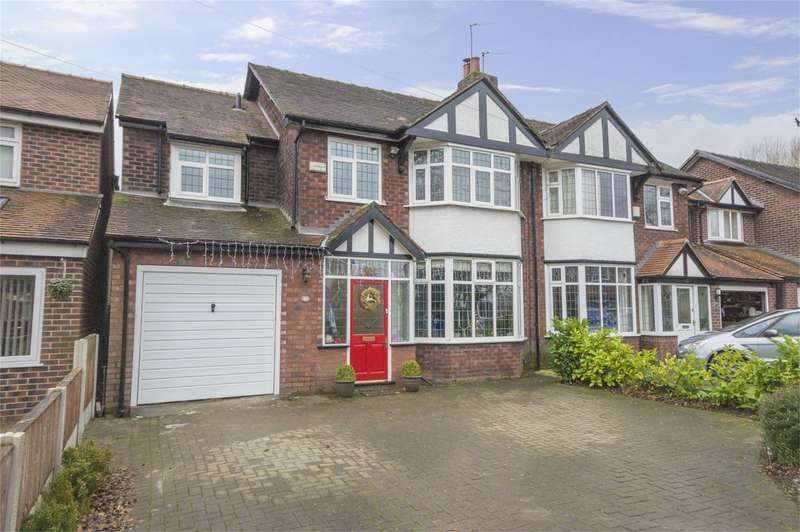 4 Bedrooms Semi Detached House for sale in Meadow Lane, Worsley, Manchester