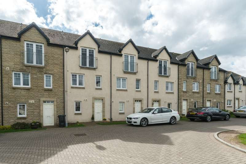 4 Bedrooms Town House for sale in Durham Bank, Bonnyrigg, Midlothian, EH19 3BY