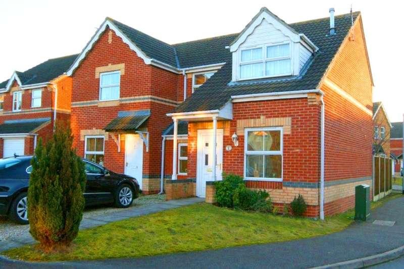 3 Bedrooms Semi Detached House for sale in Ripon Close, Bracebridge Heath, Lincoln, LN4