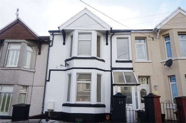 3 Bedrooms Terraced House for sale in Montclaire Avenue, BLACKWOOD, Caerphilly