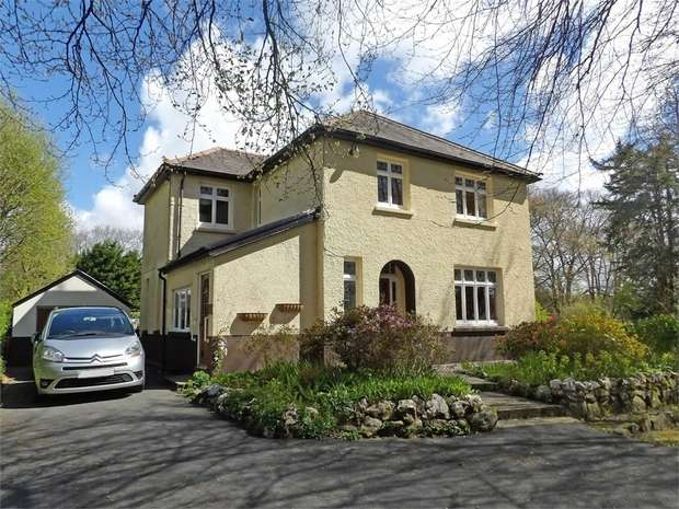 4 Bedrooms Detached House for sale in Llanwrda, Ffarmers, Llanwrda, Carmarthenshire