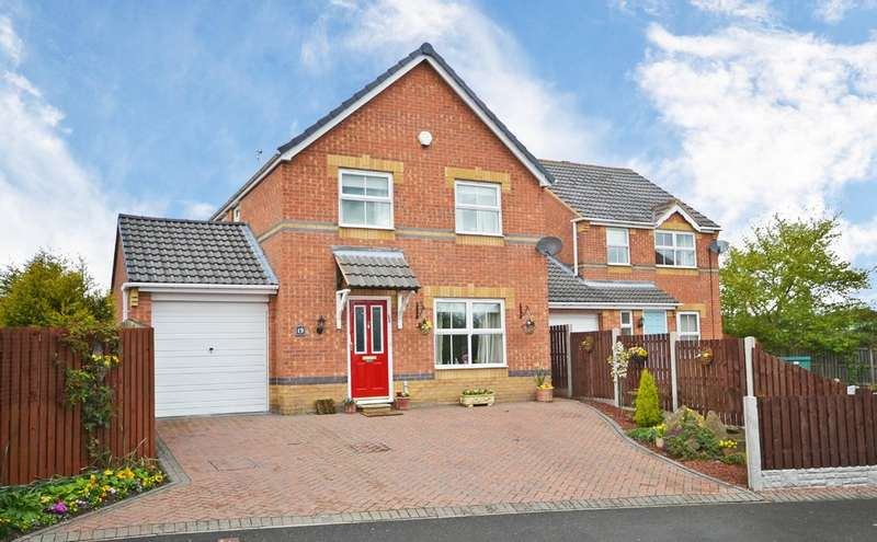 4 Bedrooms Detached House for sale in Beachill Road, Havercroft, Wakefield