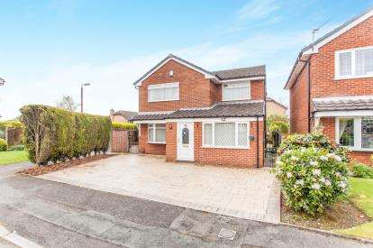 4 Bedrooms Detached House for sale in Daisy Hall Drive, Westhoughton, Bolton, Greater Manchester, BL5