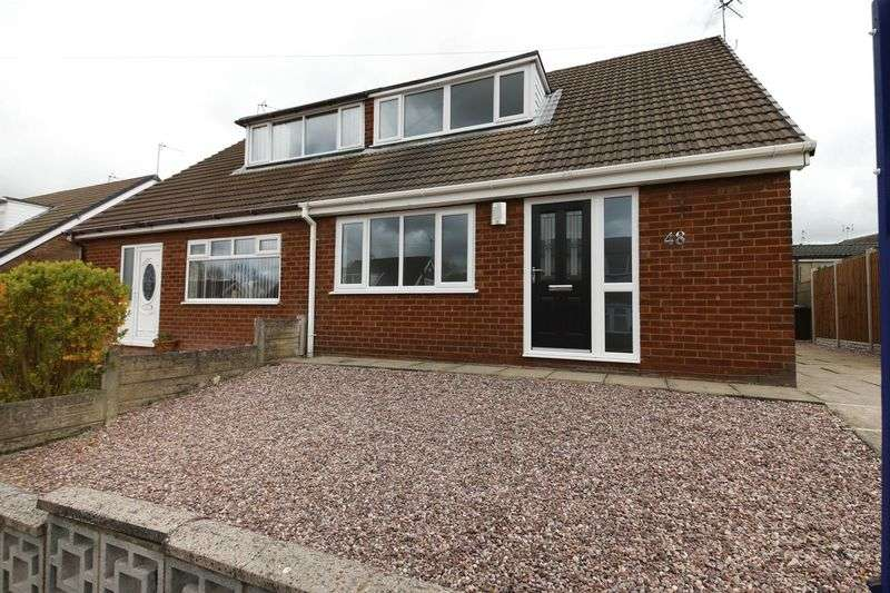 3 Bedrooms Semi Detached House for sale in Martland Crescent, Beech Hill, Wigan