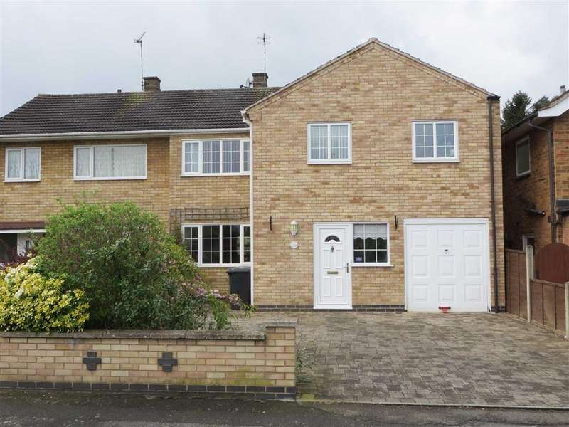 4 Bedrooms Semi Detached House for sale in Blenheim Road, Birstall