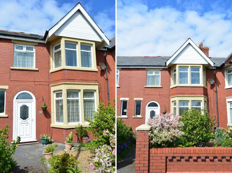 3 Bedrooms Terraced House for sale in Stonycroft Avenue, South Shore, Blackpool, FY4 2NR