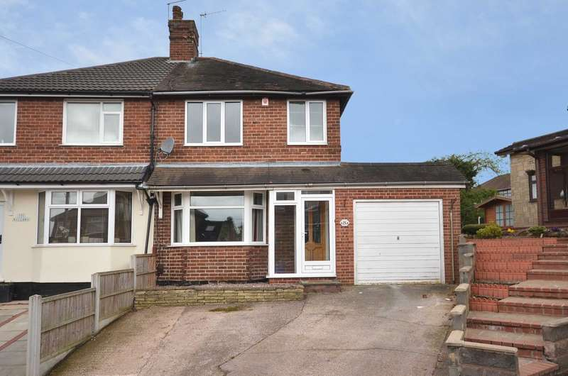 3 Bedrooms Semi Detached House for sale in Willow Grove Blurton