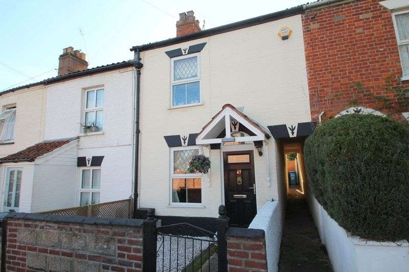 2 Bedrooms Terraced House for sale in Rackham Road, Norwich