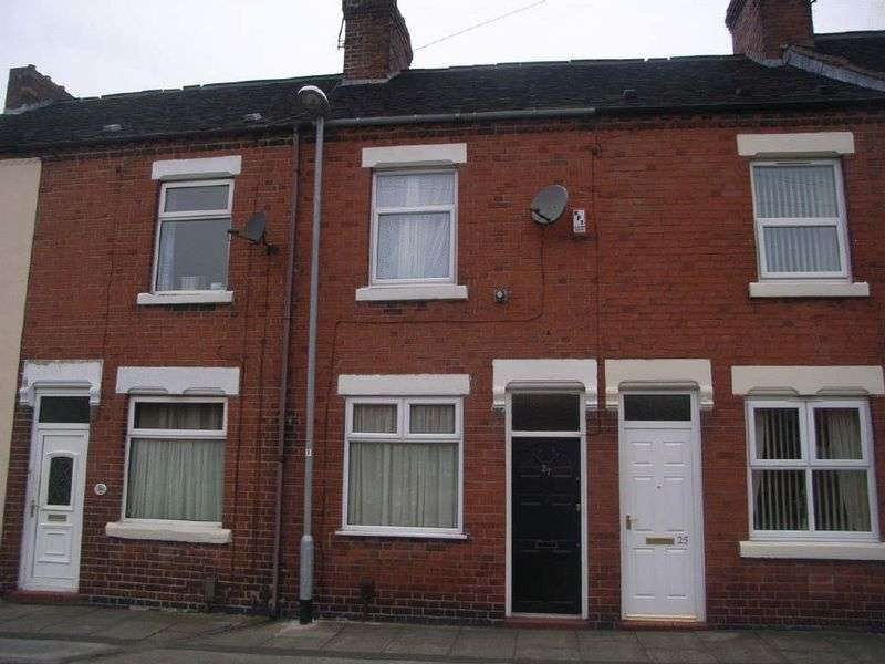 2 Bedrooms Terraced House for sale in Leopold Street, Fenton, Stoke-On-Trent, ST4 2JH