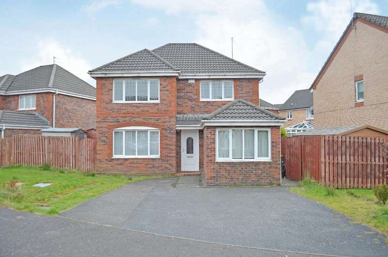 5 Bedrooms Detached House for sale in Leglen Wood Drive, Robroyston, Glasgow, G21 3PH
