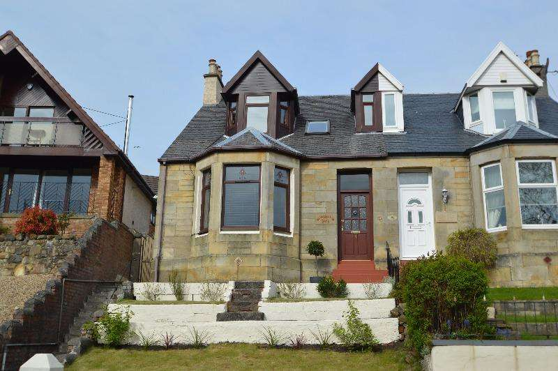 3 Bedrooms Semi Detached House for sale in Irvine Road, Kilwinning, North Ayrshire, KA13 7PD