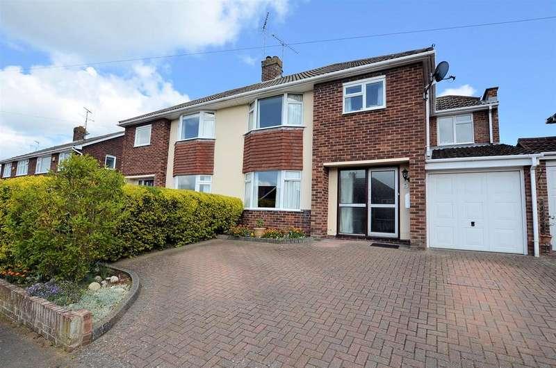 5 Bedrooms Semi Detached House for sale in Elmstone Drive, Tilehurst, Reading