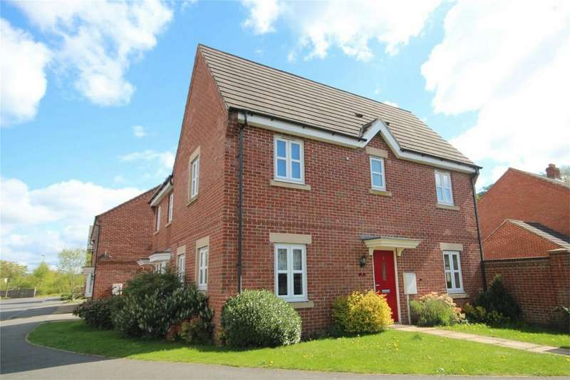 3 Bedrooms Semi Detached House for sale in Bernard Gadsby Close, Ashbourne, Derbyshire