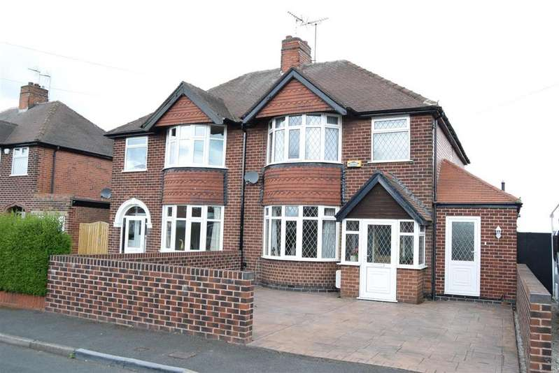 3 Bedrooms Semi Detached House for sale in Radnor Place, Mansfield