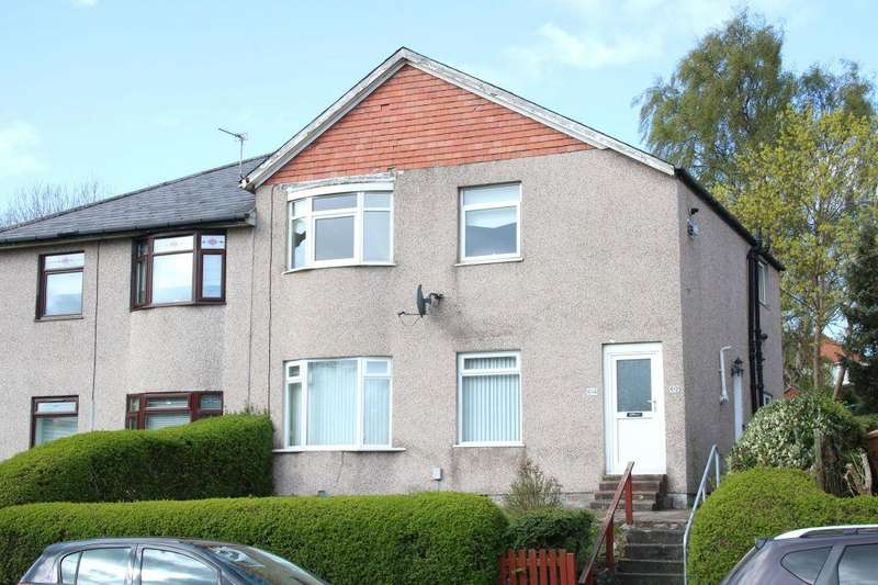 2 Bedrooms Cottage House for sale in 614 Castlemilk Road, Croftfoot, Glasgow, G44 5NA