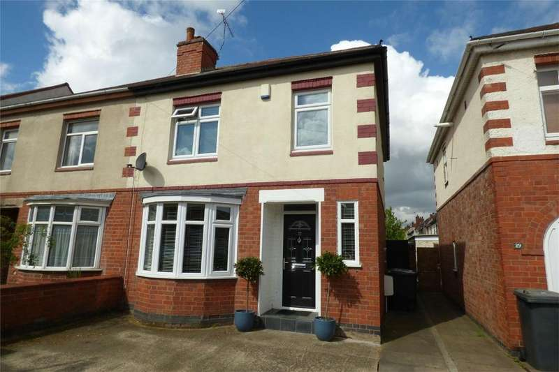 3 Bedrooms Semi Detached House for sale in Richmond Road, Nuneaton, Warwickshire