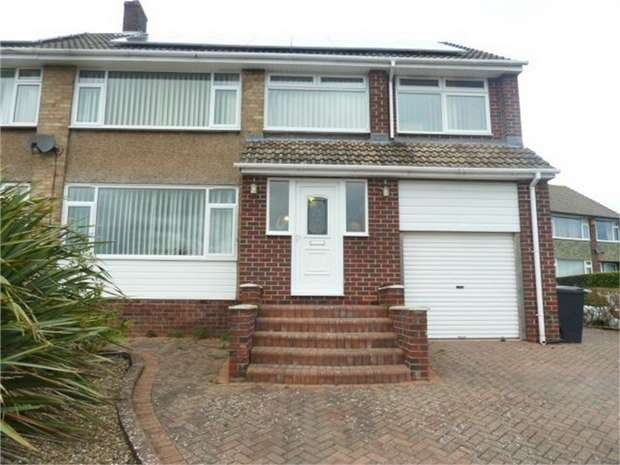 4 Bedrooms Semi Detached House for sale in Aquila Drive, Heddon-on-the-Wall, Newcastle upon Tyne, Northumberland
