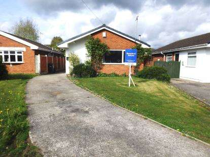 2 Bedrooms Bungalow for sale in Bracken Close, Broughton, Chester, Flintshire, CH4
