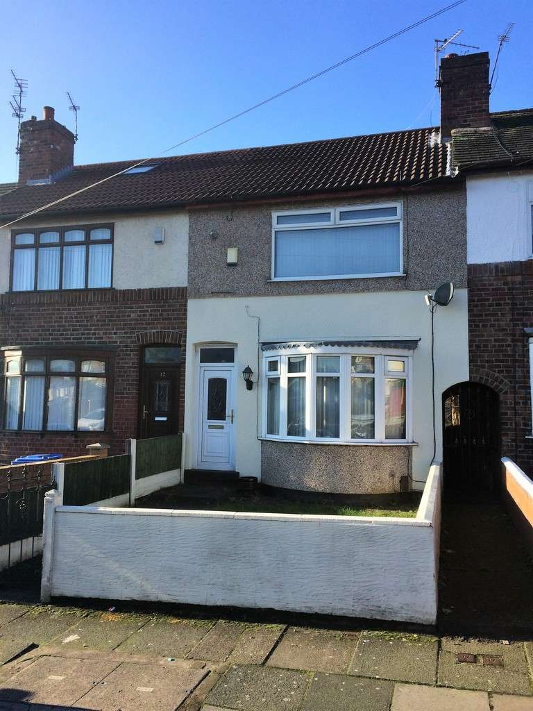 3 Bedrooms Terraced House for sale in Pretoria Road, Liverpool, L9