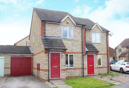 2 Bedrooms Semi Detached House for sale in Howells Place, Mastin Moor, Chesterfield, Derbyshire