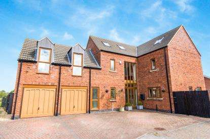 5 Bedrooms Detached House for sale in Hortonfield Drive, Washingborough, Lincoln, Lincolnshire
