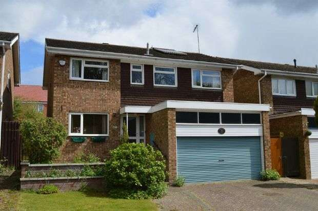 4 Bedrooms Detached House for sale in North Hayes Court, Goldenash, Northampton NN3 8JF