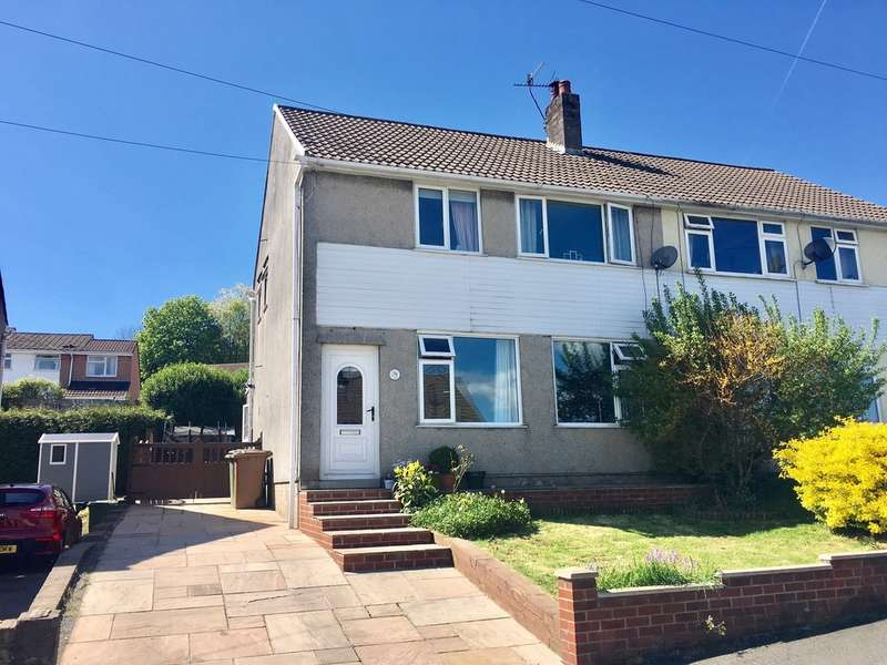 3 Bedrooms Semi Detached House for sale in Heol Barri, Caerphilly