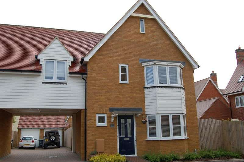3 Bedrooms Link Detached House for sale in Almond Road, Great Dunmow CM6
