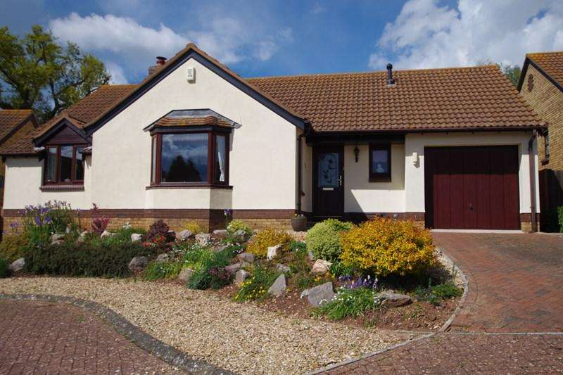 3 Bedrooms Detached Bungalow for sale in Benedict Close, Teignmouth