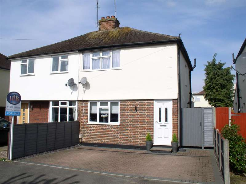 2 Bedrooms Property for sale in Thrupps Avenue, Hersham, Walton-On-Thames